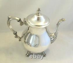 A Vintage Silver Plated 4 Piece Tea & Coffee Set International Silver Co