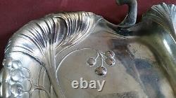 ART NOUVEAU WMF silver-plated Tray German Austrian silver plated silver plate