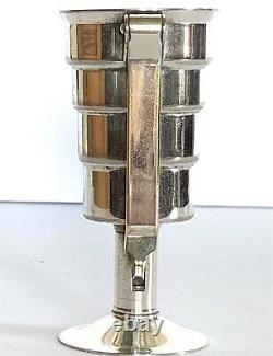 Antique Napier Art Deco Silver Plate Jigger