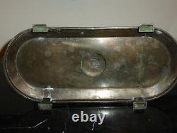 Antique Victorian Wilcox Silverplate Quadruple Plate Putti Cherub Centerpiece