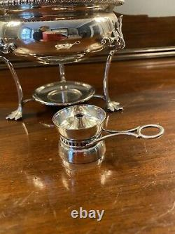 Antique Walker & Hall Silver Plated Egg Coddler For Four Circa 1900