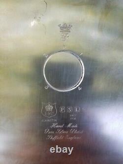 Beautiful Elkington & Co Sheffield English Silver Plate & Cut Crystal Epergne