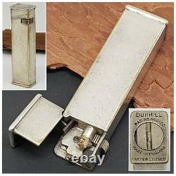 Briquet essence DUNHILL CARTIER LICENCE silver plate-Petrol Lighter-Feuerzeug