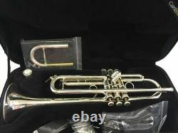 Carol Brass Professional CTR-5000L-YLT Silver Plate Bb Trumpet 1/2 price of Xeno