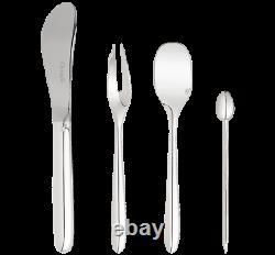 Christofle Mood Party Silver Plate 25-piece Set W Egg Capsule #0065599 Brand Nib