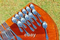 Christofle Vendome Silver Plated 48 Pcs. Set in 12 Settings