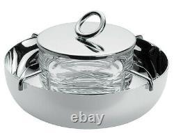 Christofle Vertigo Silver-plated 2-pc Caviar Serving Set #4224595 Brand Nib F/sh