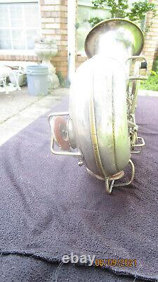 Conn New Wonder II 1928 Silver Plate Gold Wash Bell