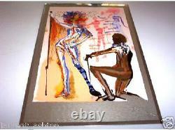 Dali Man's Profession The Fashion Designer Silver Plate
