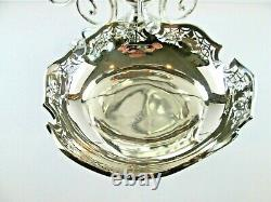 English Silver Plate Epergne Centerpiece