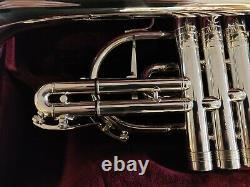 Geneva Symphony Cornet Silver Plate (Refurbished Instrument)