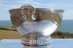 Italia Italian Line Huge 14 Ss Rex Era Silver Plate Tureen Or Ice Bucket 1930's