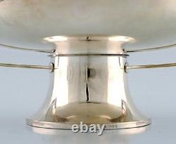 Large bowl / centerpiece in silver plate, by Christian Fjerdingstad, Christofle