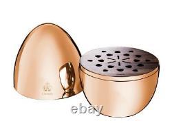 MOOD Christofle France 24 pc Silver Plated Flatware Set Egg Pink Rose Gold New
