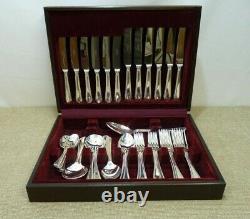 Osborne 44-piece Silver plated Cutlery Canteen EPNS A1 Thames Hospice