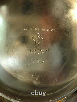 RARE Mt. Washington BURMESE Breakfast Castor, PAIRPOINT Silver Plate Stand