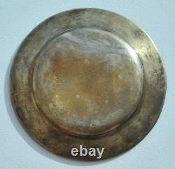 Russian Imperial Royal 84 Silver Plate Sazikov Icon Chalice Kovsh Bowl Gold Egg