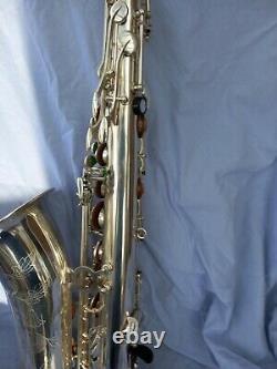 Saxophone Tenor Rampone and Cazzani R1 Jazz Silver plate