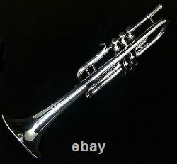 Schagerl Academica C Trumpet in Silver Plate TR-620CS