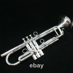 Schagerl JM2-S James Morrison Bb Trumpet in Silver Plate