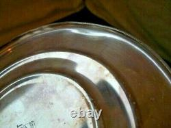 Silver Plate Spirit Stove Burner Warmer'PARAMOUNT EPNS' Antique