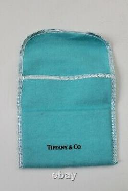 Tiffany & Co. Silver Plate Business Card Holder, Pouch & Box