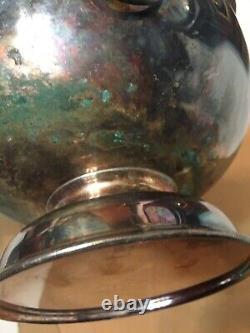 Vintage 1958 London Canine Association Best In Show Silver Plate Trophy Bowl