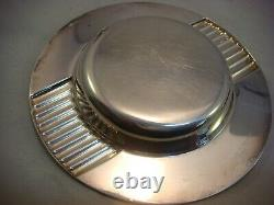 Vintage Cartier Ashtray Silver Plated 1990