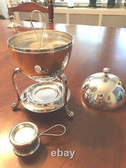 Vintage English Silver Plated Egg Coddler By Carrington & Co, Ltd