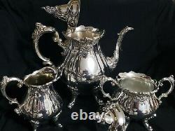 Vintage Wallace Baroque silver plated tea set. Beautiful and in Great condition
