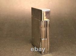 Vintage silver plate ST Dupont Paris Plaque Argent G lighter